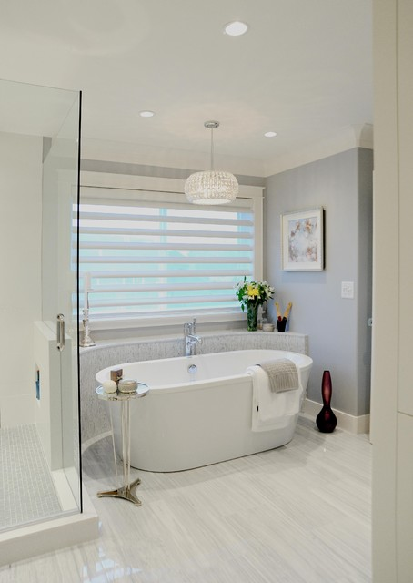 20x25x4 Air Filter Bathroom Traditional with Blinds Chrome Freestanding Tub Gray Pendant Light Recessed Light