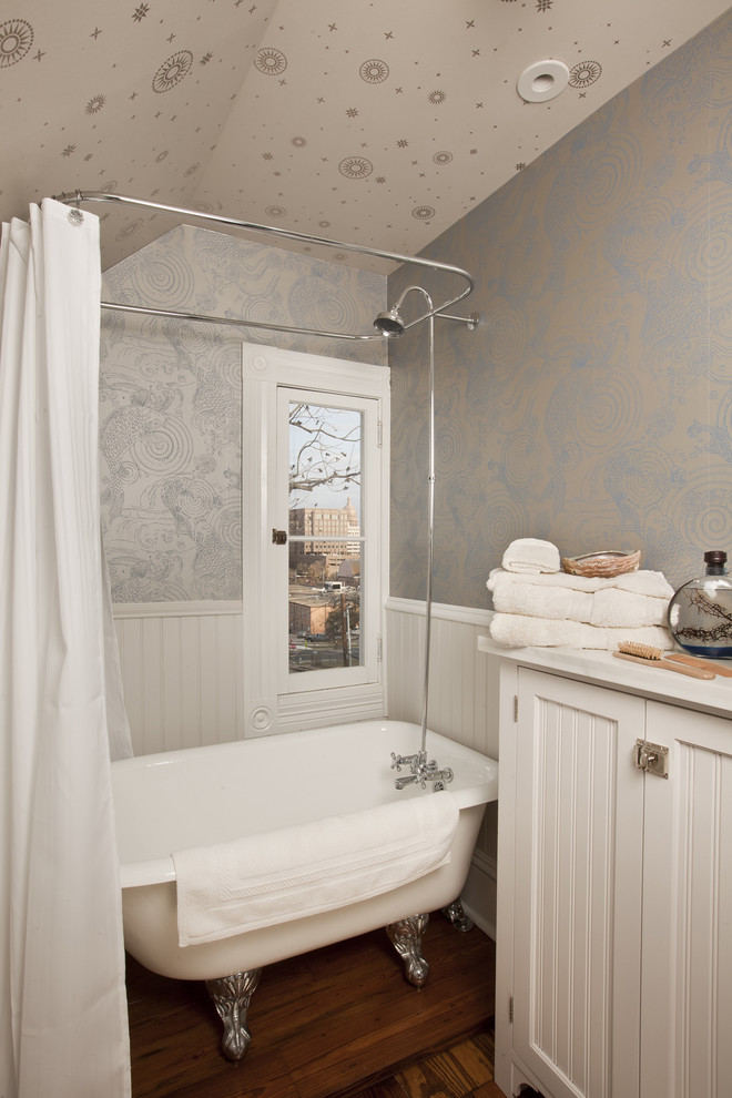 96 Inch Shower Curtain Bathroom Traditional with Antique Bathroom Storage Beadboard Cabinet Cabinetry Casement