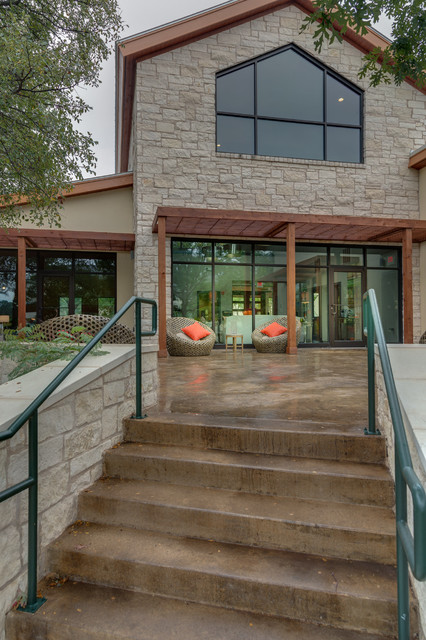 Acid Stain Concrete Patio Traditional with Concrete Patio Concrete Stairs Concrete Steps Covered Patio Metal