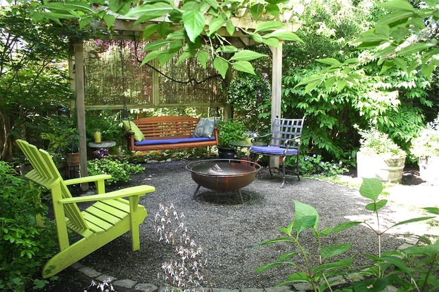 Adirondack Cushions Patio Traditional with Adirondack Chair Arbor Bench Swing Blue Outdoor Cushions Covered