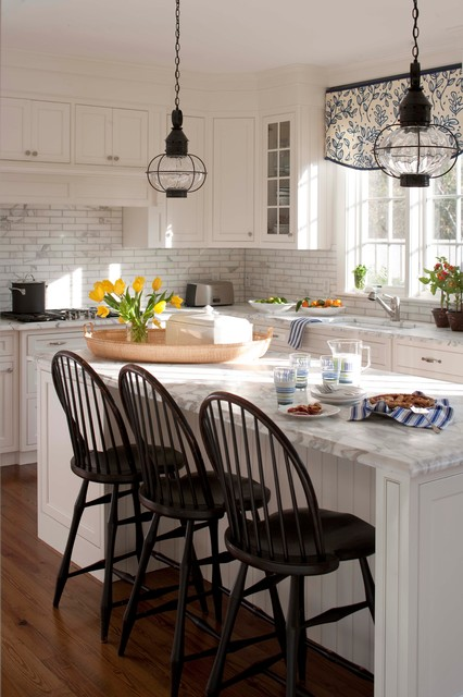 Alf Furniture Kitchen Traditional with Caged Pendant Lights Casement Windows Custom Cabinets Framed Cabinets