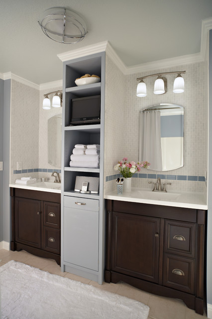 Allen and Roth Closet Bathroom Traditional with Bathroom Bathroom Cabinets Faucet His and Her Bathroom Lighting Medicine Cabinet