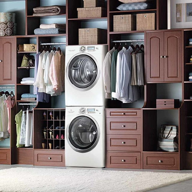 Allen and Roth Closet Laundry Room Contemporarywith Categorylaundry Roomstylecontemporary