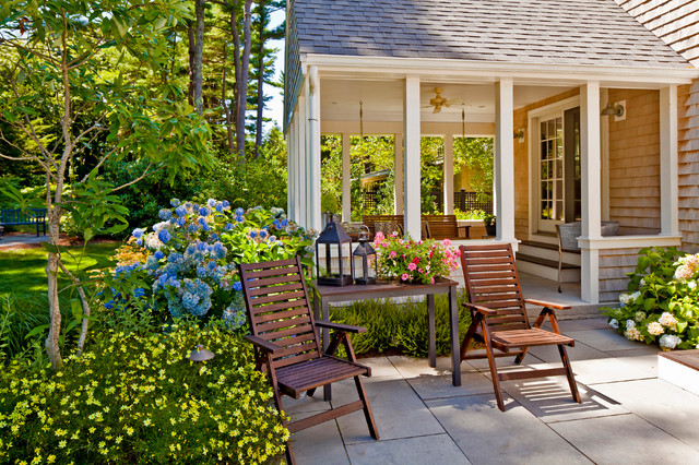 Alumawood Patio Cover Patio Traditional with Concrete Flower Bed Landscape Pavers Porch Shingle Shingle Roof