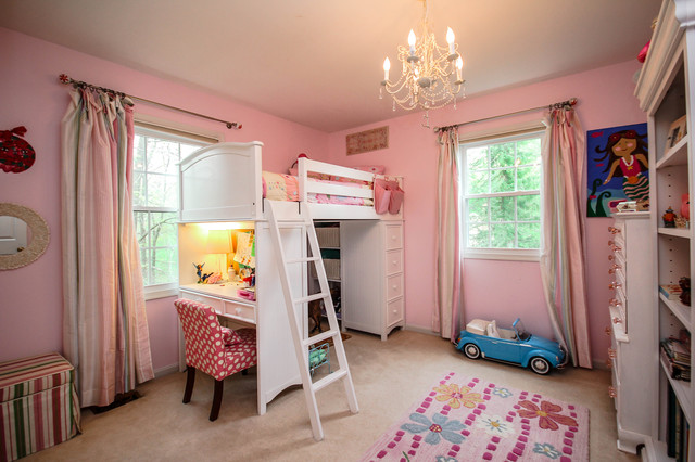 Amazon Chandeliers Kids Traditional with Bookcase Chandelier Desk Loft Bed Pink Pink and White
