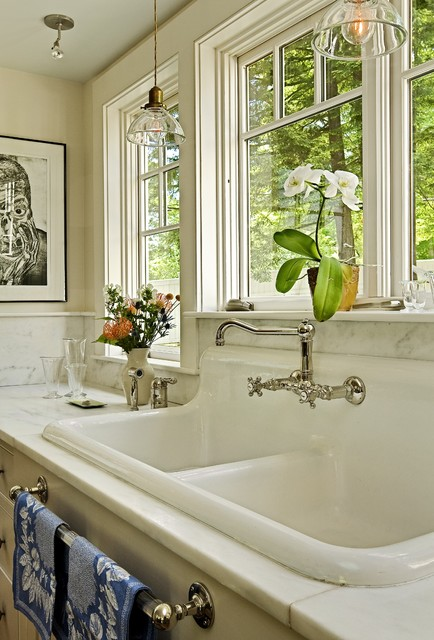 American Standard Kitchen Sinks Kitchen Traditional With Apron Sink Country  Kitchen Dish Towel Rack Farmhouse Sink
