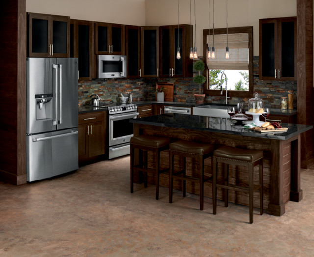 Amish Kitchen Cabinets Kitchen Contemporary with Categorykitchenstylecontemporarylocationunited States