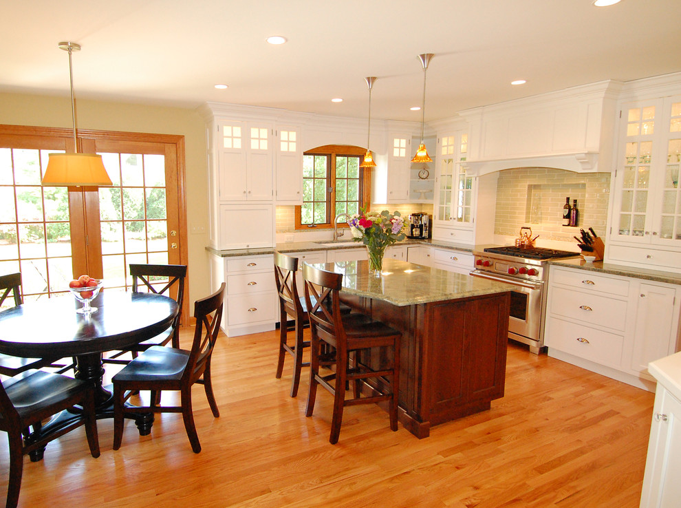 Amish Kitchen Cabinets Kitchen Traditional with Breakfast Bar Ceiling Lighting Country Kitchen Eat