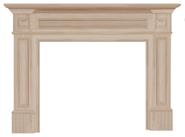 Antique Fireplace Mantels with 50 Mantel Square Column Surround Traditional Mantel Traditional Surround