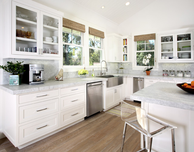 Apron Sinks Kitchen Traditional with 14shaker Apron Sink Cabinets California Craftsman Craftsman Style Custom