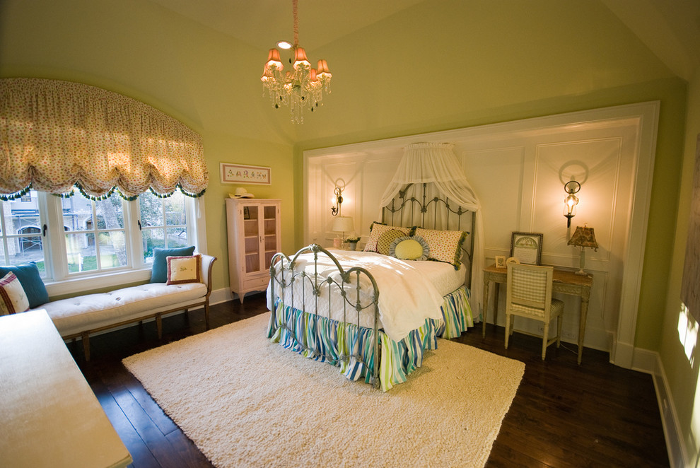 arched-window-treatments-Bedroom-Traditional-with-alcove-area-rug ...