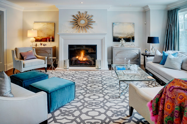 Area Rugs Target Family Room Contemporary With Arm Chairs Bolt Patterns Crown Molding Curtain Panels Fireplace