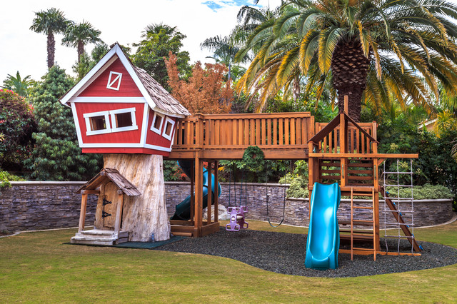 Armarkat Cat Tree Landscape Traditional with Grass Gravel Palm Tree Play Ground Play Set Playground