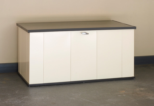 arrow sheds Spaces with arrow sheds deck box outdoor storage steel Steel Storage