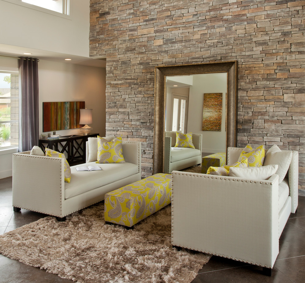 Backless Sofa Living Room Eclectic with Area Rug Artwork Brown Day Beds Nail