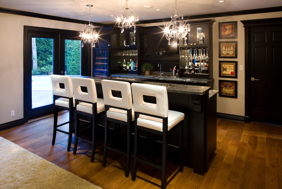 Bar Stools With Backs Home Transitional Alcohol Storage Beige Wall Chandelier Gl Door