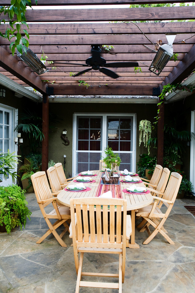 Baseboard Heater Covers Patio Contemporary with Arbor Ceiling Fan French Doors Hardscape Landscape