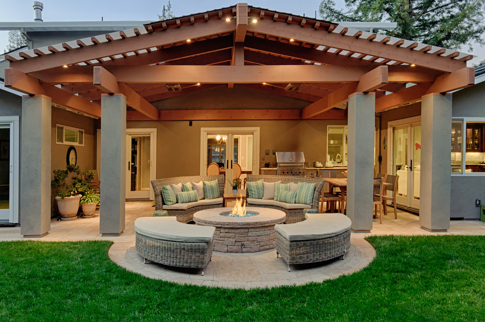 Bassett Furniture Reviews Patio Traditional with Covered Patio Glass Door Grass Lawn Stone