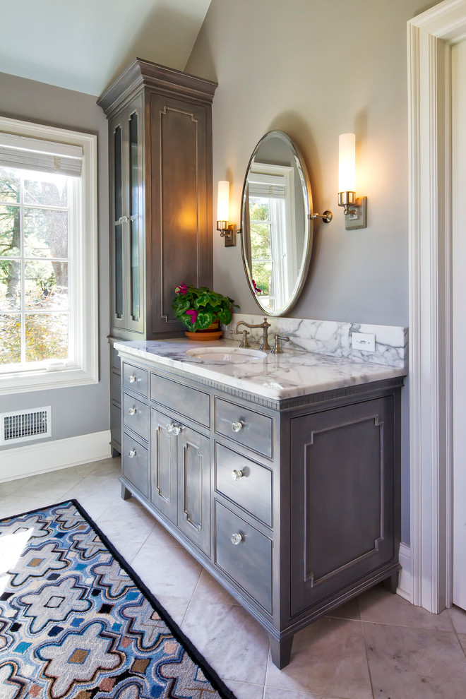 Bathroom vanities without tops bathroom beach with for Built in vanity cabinets for bathrooms