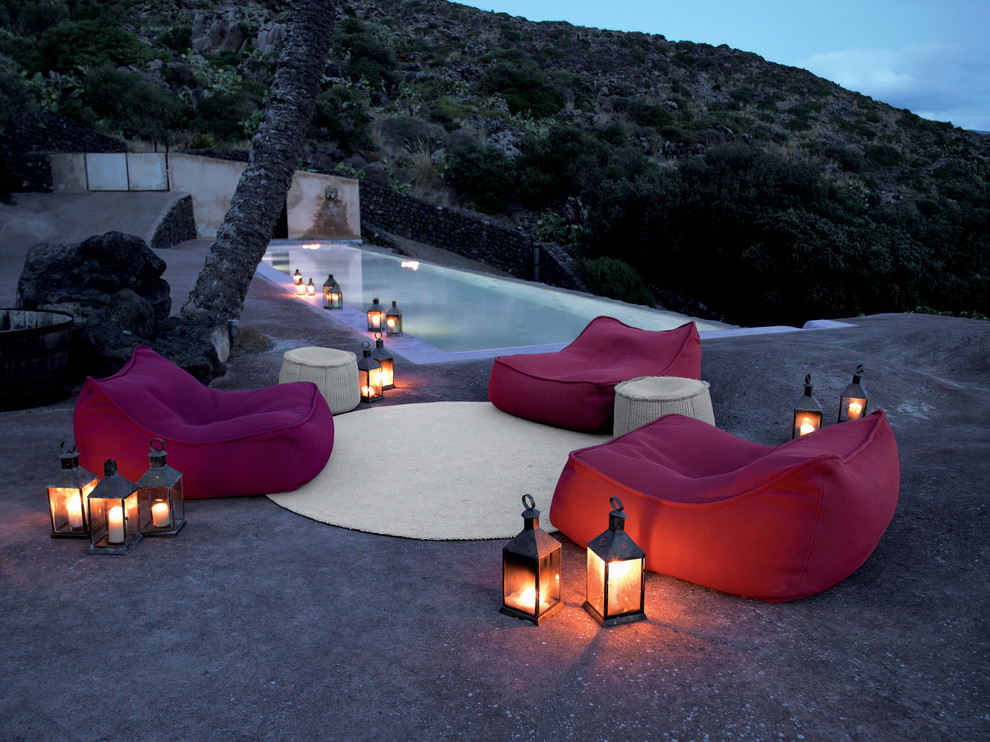 Bean Bag Chairs for Adults Pool Tropical with Bean Bag Chairs Candles Hillside Infinity Pool