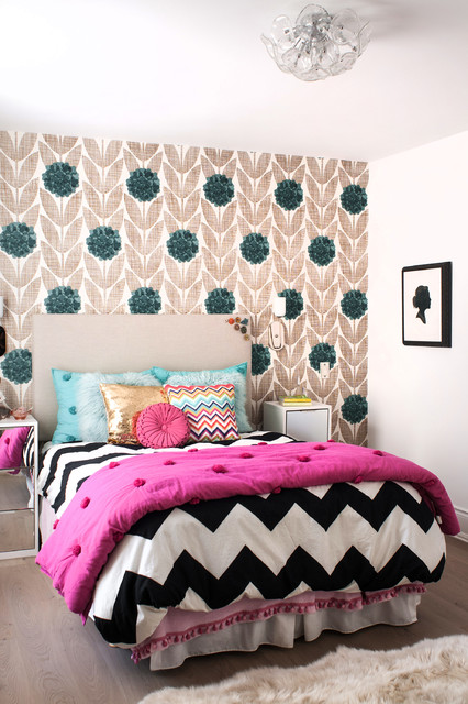 Bedspreads for Teens Bedroom Contemporary with Area Rug Art Bed Linens Bed Skirt Bedding Bold
