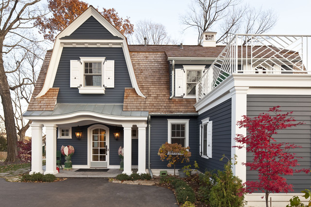 Behr Exterior Paint Colors Exterior Traditional with Arched Doorway Asphalt Columns Cupola Eyebrow Roof Gray Landscaping