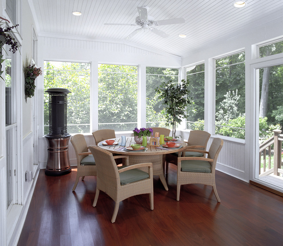 belt driven ceiling fans Porch Traditional with beadboard beadboard ceiling ceiling fan ceiling lighting