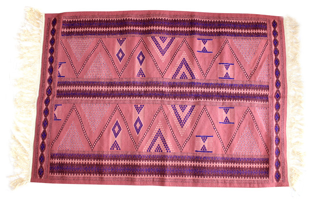 Berber Rug with Area Rugs Authentic Kilim Blue Rugs Colorful Kilim Hand