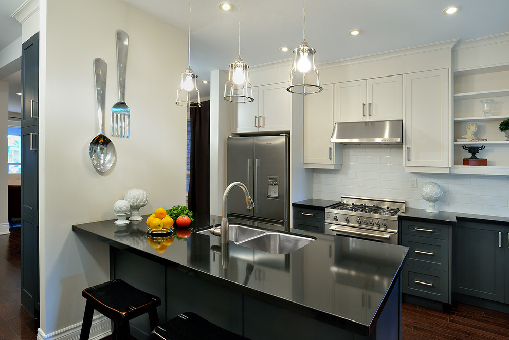 Bertazzoni Range Kitchen Contemporary with Ceasarstone Contemporary Evelyn Eshun Kitchen Spoon And