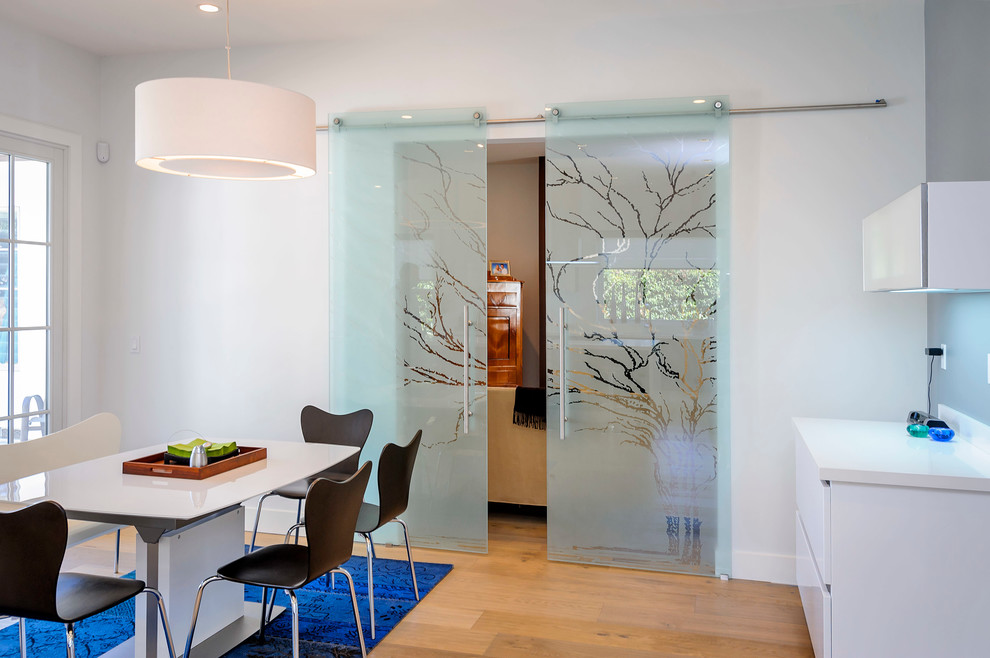 Blinds for Sliding Glass Doors Dining Room Contemporary with Blue Area Rug Dining Chairs Dining Table1