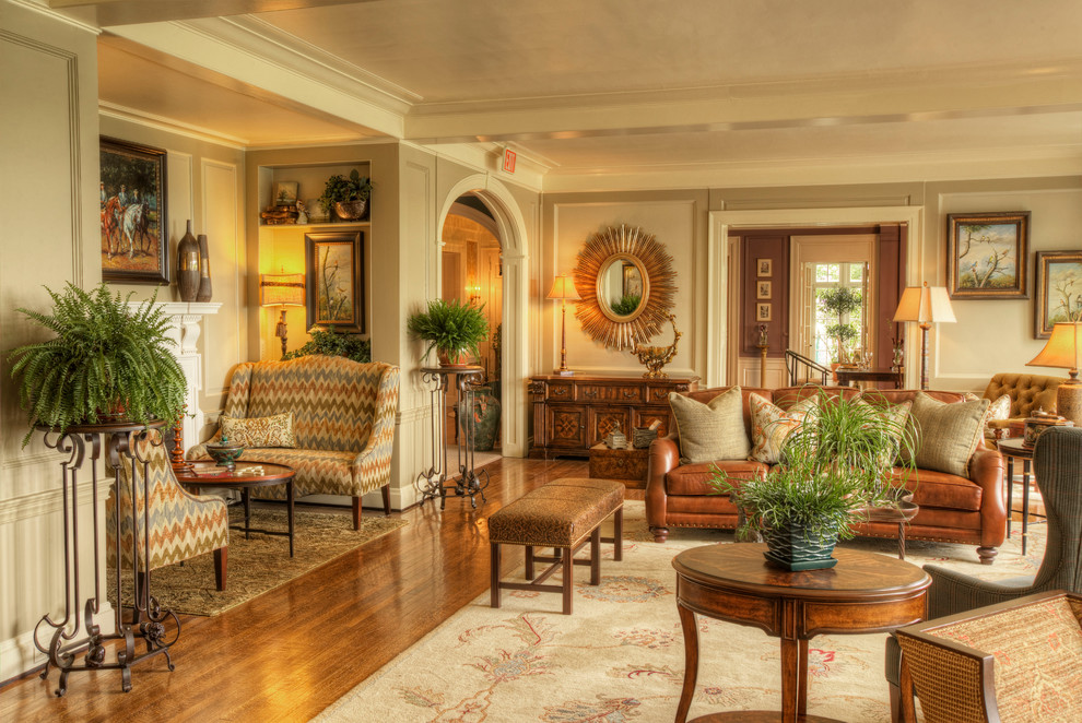 Bombay Chest Family Room Traditional With Accent Chairs  Arched Entry Area Rug Beige