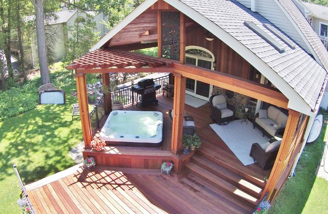 Bromic Heaters Deck Contemporary with Bromic Heaters Ceiling Fans Covered Structure Custom Aluminum Rails1