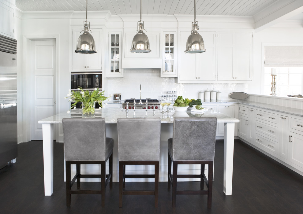 Brushed Nickel Cabinet Knobs Kitchen Contemporary With Cabinetry Counter Stools Floor Glass