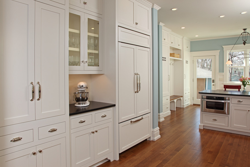 brushed nickel door knobs kitchen traditional with booth enameled integrated kitchen led light wood