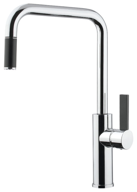 brushed-nickel-kitchen-faucet-with-ada-compliant-kitchen-faucet ...