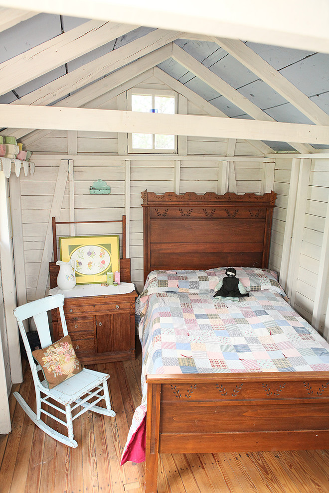 Bunkie Boards Garage and Shed Shabby Chic with Antique Antique Bed Dark Wood Bed Dark