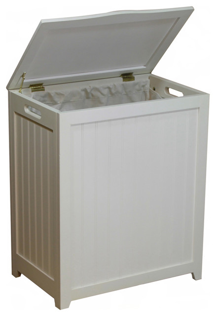 Canvas Laundry Hamper with Modern 1
