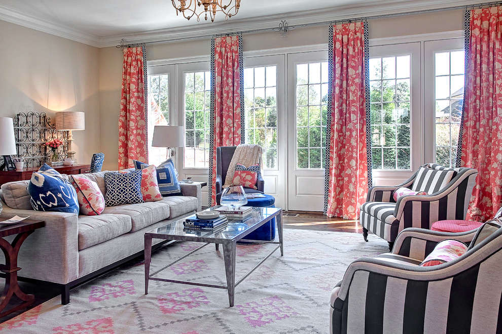 Capel Rugs Living Room Transitional with Beige Walls Belle Meade Capel Charleston Forge