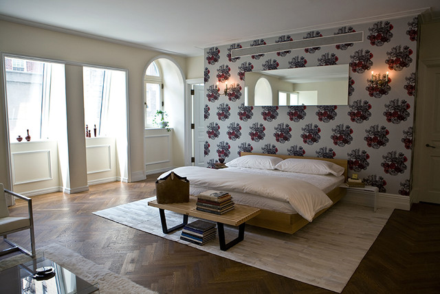 Carharts Bedroom Contemporary with Bed Bedroom Bench Chic Custom Design Glamour Lounge Luxury