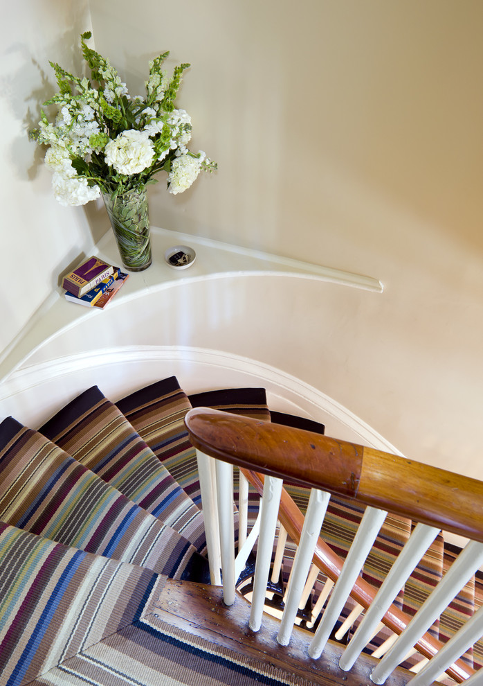 Carpet Runners for Stairs Staircase Eclectic with Banister Curved Stair Custom Rug Custom Runner