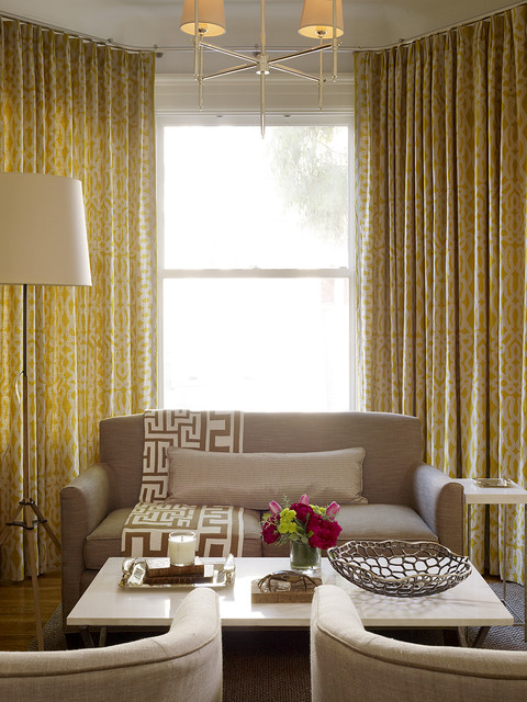 Cashmere Throw Blanket Living Room Transitional with Armchairs Beige Chandelier Curtain Panels Floor Lamp Gold Greek