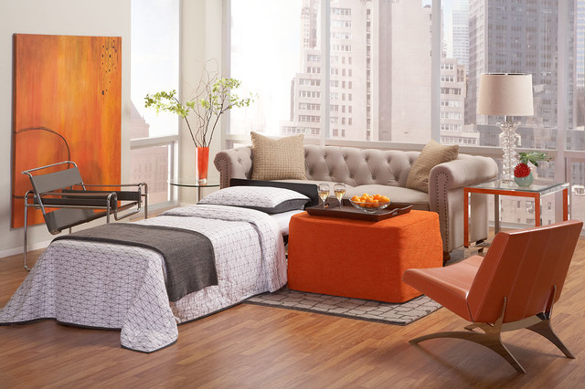 Castro Convertible Spaces Transitional with Convertible Furniture Convertible Ottoman Guest Bed Ottoman Ottoman Coffee