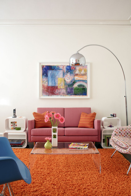 Cb2 Rugs Living Room Midcentury With Area Rug Artwork Bold Colors Bright  Colors Clear Acrylic