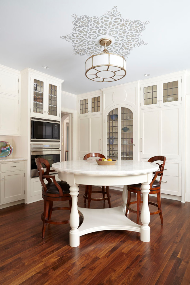 ceiling medallion Kitchen Traditional with cabinet-front refrigerator ceiling lighting ceiling medallion country
