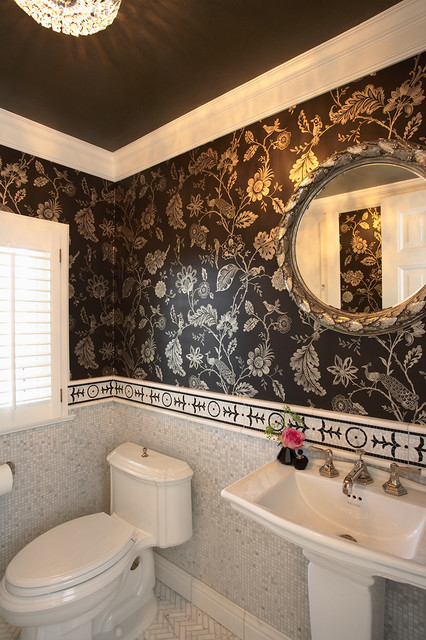 Ceiling Tiles Lowes Bathroom Traditional with Accent Tiles Bathroom Mirror Crown Molding Floor Tile Design