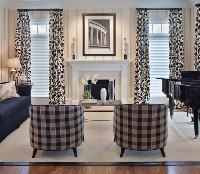 Cellular Blinds Living Room Contemporary with Area Rug Black and White Black Sofa Blinds Chrome