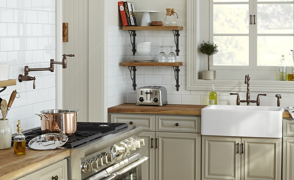 Cerdomus Tile Kitchen Rusticwith Categorykitchenstylerustic