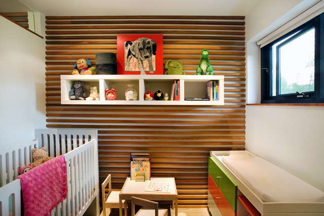 changing table dresser Nursery Modern with changing table colorful dresser floating cubbies floating shelves kids