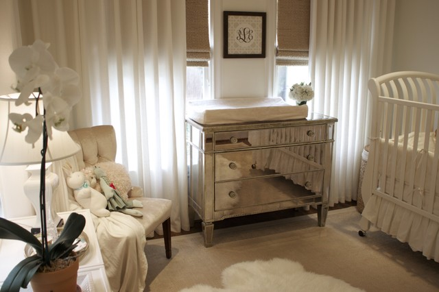 Changing Table Dresser Spaces Traditional with Area Rug Changing Table Chest of Drawers Curtains Drapes