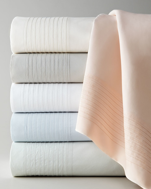 Charisma Sheetssold Byhorchow Sheets Contemporarywith Sold Byhorchowcategorysheetsstylecontemporary 450tc Madison Fitted Sheet Ivory Contemporary Sheets